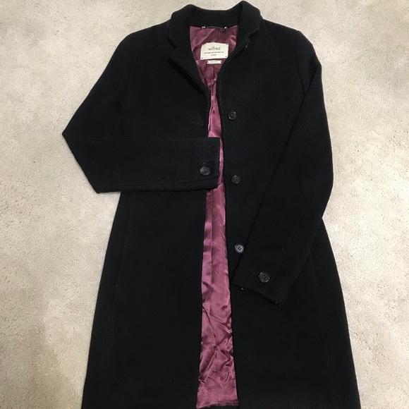 f9fdda34e7 Aritzia Jackets   Blazers - Aritzia Wool coat black made in Canada XXS 00